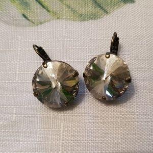Sabika Mega drop earrings